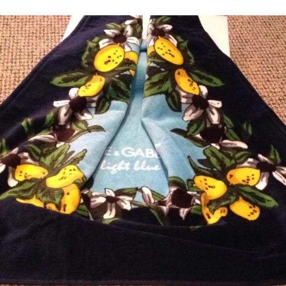 Dolce & Gabbana Accessories - Dolce & Gabbana beach towel